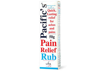 Pacific's Pain Relief Rub