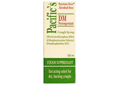 Pacific's DM – Decongestant