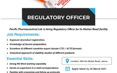 Regulatory Officer