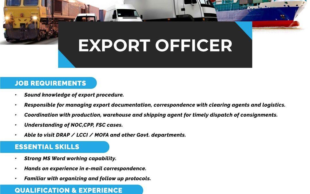 Export Officer